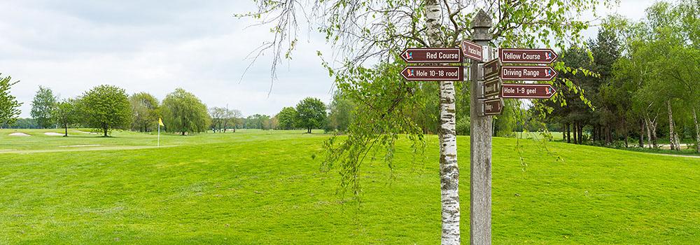 De 18 holes van golfbaan St. Nyk