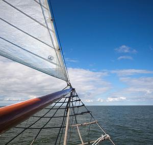 Sailing on the Frisian lakes